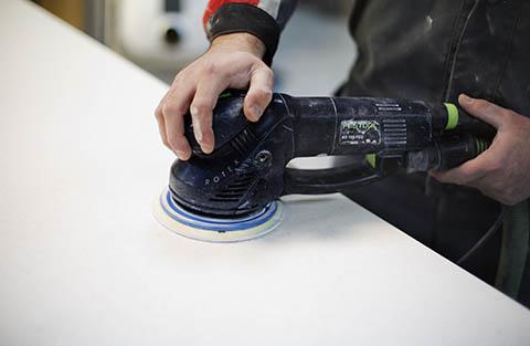 шлифовка и полировка после монтажа